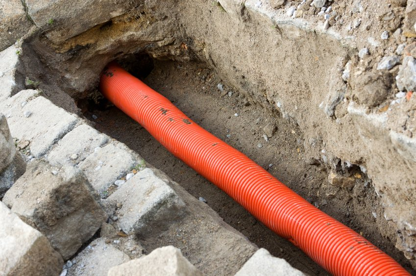 underground buried pipe